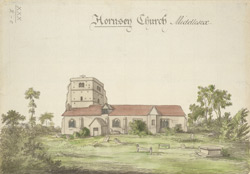 Hornsey Church, Middlesex